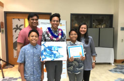 """(Photo courtesy of Spencer Ilagan (12)) The competition accepted artwork from elementary, middle and high school students in separate devisions following the theme """"Under the Sea."""""""