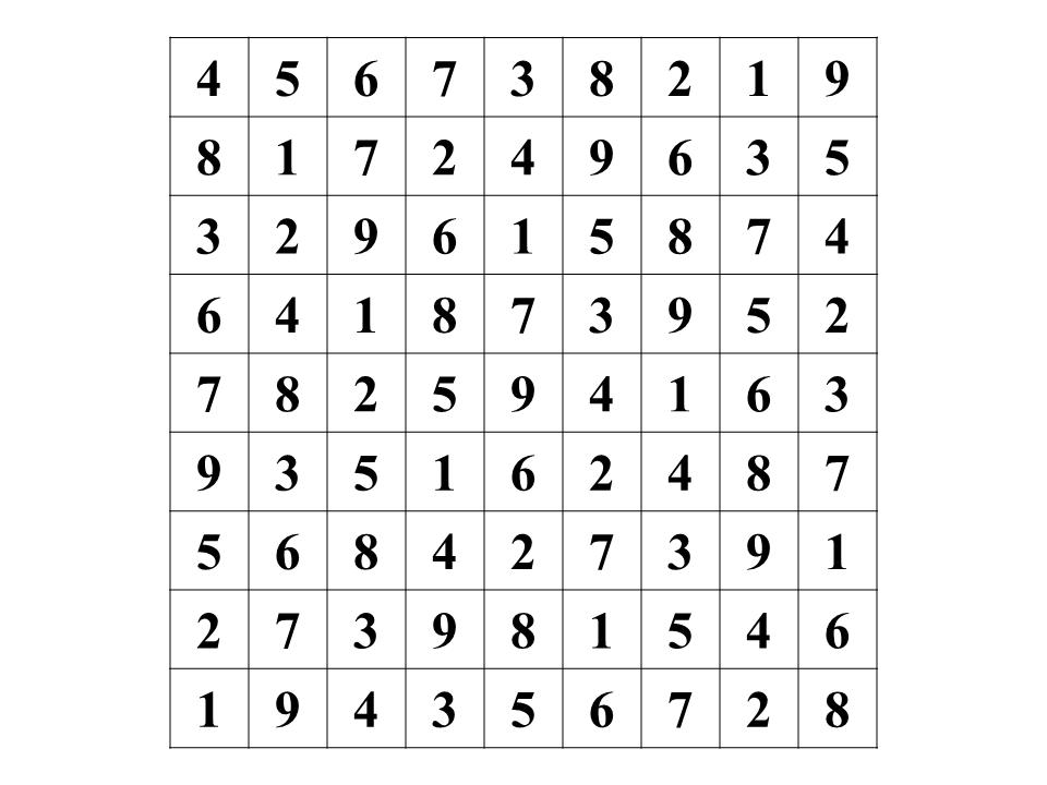 Sudoku - Issue #6
