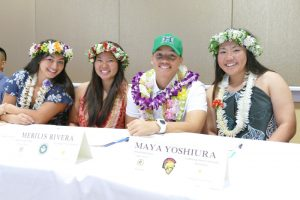(Photo courtesy of Denise Yamamoto) After years of hard work and dedication in both school and club, Rivera has received a scholarship to play softball with the University of Hawaii.